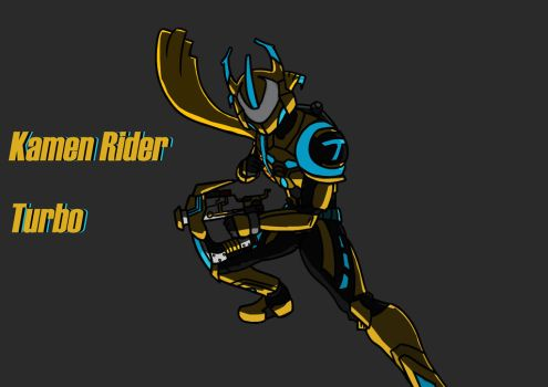 No.2 request Kamen rider Turbo by ArkAges