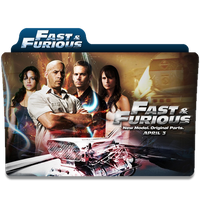 Fast and the Furious Desktop Icon by RainGirl2009