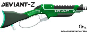 DEVIANT-Z Lever Shotgun (Final) by OUTMACED121