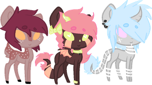 Pony Adopts 8 (OTA) -closed- by Sinful-Moon-Adopts