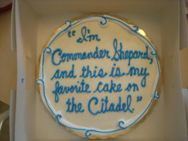 Favorite Cake on the Citadel by Feena-c