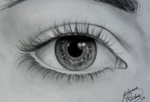 Human eye by JMisfit