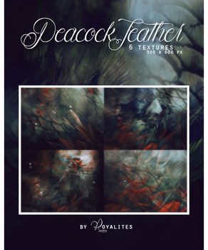 peacock feather: texture pack by Royalites