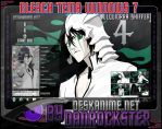 Ulquiorra Schiffer Theme Windows 7 by Danrockster