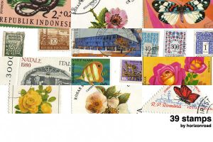 stamps by horizonroad