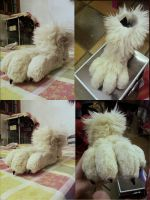 wolf feet paws (part-2) by NonoLoup