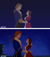 Disney Sequel Redraw: The Enchanted Christmas by Wickfield