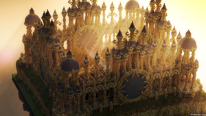 minecraft render rays by Someone12123