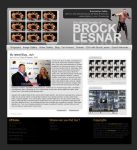 Brock Lesnar Fansite Layout by Fr1stys