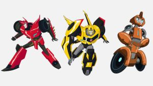 Sideswipe-Bumblebee-Fixit-Tranformers-Robots-in-Di by angelgirl121