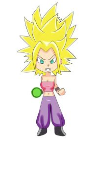 Caulifla super sayayin by Drawmanex