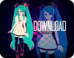 RxNxD World Is Mine Miku DOWNLOAD by RinXNeruXD
