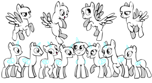 pony group base thing by ilickrainbows