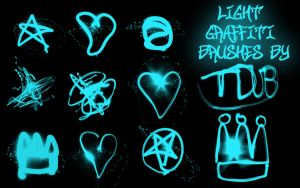 light graffiti brushes by t-mang