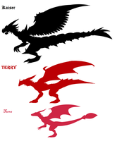 dragons by TerryRed