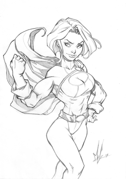 Powergirl's Ready for ya! by Marc-F-Huizinga