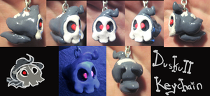 Duskull keychain by HollieBollie
