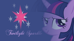 Twilight Sparkle Headshot Wallpaper by nsaiuvqart