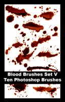 523 - Blood Brushes Set V by Blood--Stock