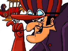 Dick Dastardly by Almecha