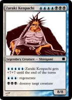kenpachi bleach 2 mtg card by Ryaxx