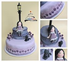 Gorjuss in Lilac Cake by The-Nonexistent