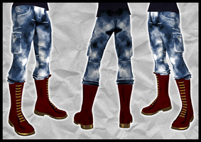 Skinhead Pants by crowhitewolf