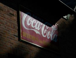 Old Coke Signage by specialoftheweek
