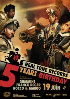 5 Years Real Tone Records by prop4g4nd4