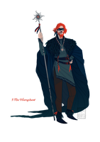 [closed] Adopt - 5 The Hierophant by fionadoesadopts