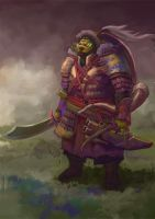 Orc Warrior by Windmaker