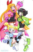 Prototype girls Z by TheDayIsSaved
