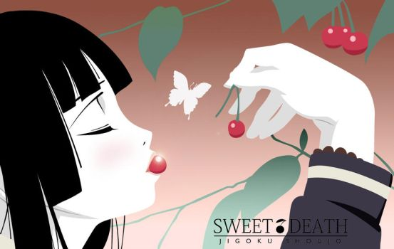 Enma Ai with cherries by renzukuken