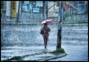 Rainy day by zentenophotography