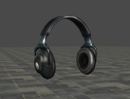 Devil May Cry 4 Headphones by ItalianUtent