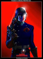 Cobra Commander Movie Poster by botmaster2005