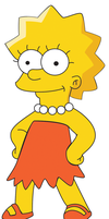 Lisa Simpson by Kass-93