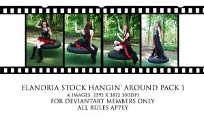 Hangin' Around Large Pack 1 by Elandria