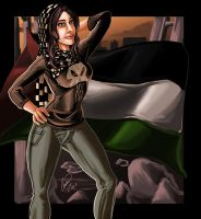 Palestinian Woman by shadowyzman