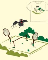 batminton by skitchman