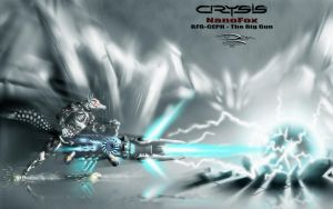 Crysis NanoFoX - BFG CEPH - The Big Gun by Unreal-Forever