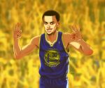 Stephen Curry by EddieHolly