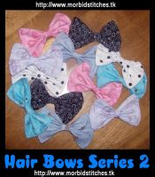 Hair Bows Series 2 by morbid-stitches