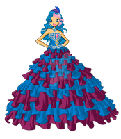 Ashia Prom Dress PNG by ashia2256