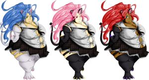 Felicia + Recolors by GAIN-OVER