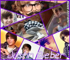 Collage Justin Bieber by AguustiinaEditions