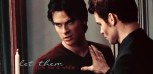 Damon Salvatore and Elijah signature by McOlussska