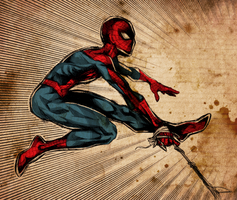 Spidey color by Tanashi