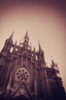 The Church of the Virgin by VictoriaMonroe