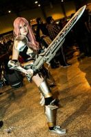 Lightning from Final Fantasy XIII 2 cosplay by HarleyBatmarta